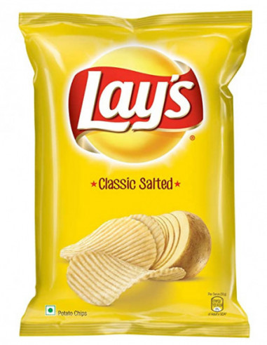 Lays Classic Salted Potato Chips 130g