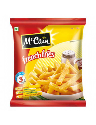 Mc cain  French fries 420g+Extra105 g
