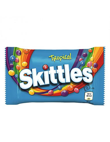 Skittles tropical assorted candy 55gm