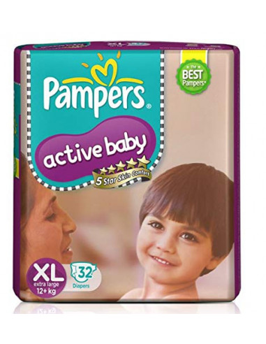 Pampers Active Baby Pants Xl-32 Diaper