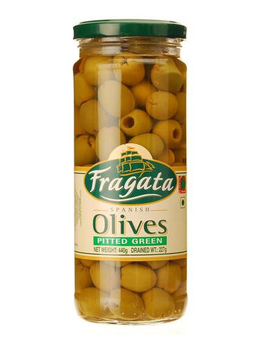 Fragata Spanish Olives Pitted Green...