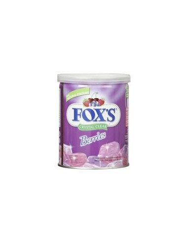 Foxs Crystal Clear Berries 180gm