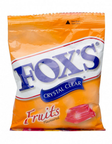 Foxs Crystal Clear Fruit Flavour 90gm...