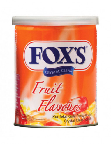 FOXS CRYSTAL CLEAR FRUIT FLAVOURED...