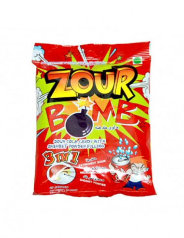 Zour Bomb 3 In 1 Candy 110gm Imp