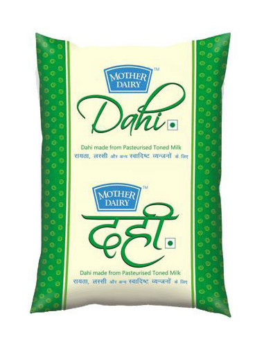 Mother Dairy Dahi 1Ltr Pouch