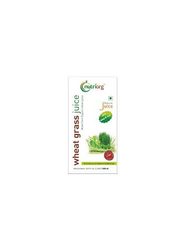 Nutriorg Wheat Grass Juice With Giloy...