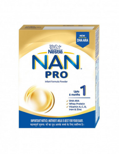 Nestle nan pro 1 up to 6 month 400gm