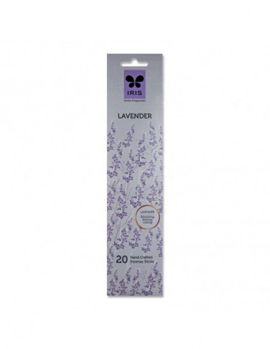 Iris Lavender 20 Hand Crafted Incense...