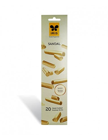 Iris Sandal 20 Hand Crafted Incense...