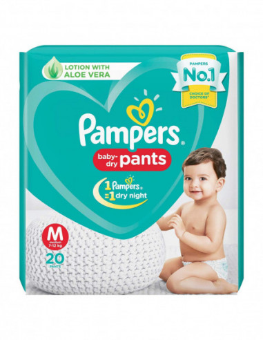 PAMPERS BABY-PANTS DRY 20 PANTS M